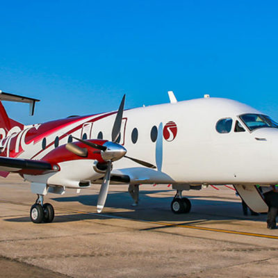 TROPIC AIR ACCEPTS DELIVERY OF A BEECHCRAFT 1900D AIRCRAFT